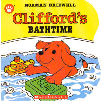 Clifford's Bathtime大红狗去洗澡吧