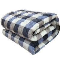 加厚保暖冬季珊瑚绒法莱绒毯法兰绒毛毯垫双层双人单人学生宿舍