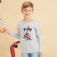 【年前最后狂欢,3件2.2折到手价:29.7】美特斯邦威旗下Moomoo童装男童迪士尼米奇长袖T恤