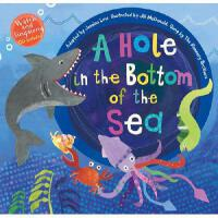 【预订】A Hole in the Bottom of the Sea [With Audio CD]