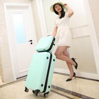 时尚迷你行李箱20寸可爱拉杆箱女韩版24寸小清新子母箱26寸学生箱