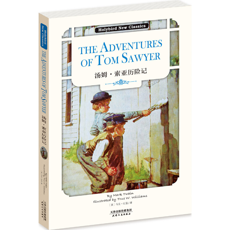 汤姆·索亚历险记:THE ADVENTURES OF TOM SAWYER(英文版)