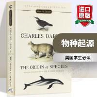 华研原版 物种起源 英文原版书 The Origin of Species 达尔文生物进化经典名著 英文版进口英语书籍