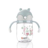 Zolitt 卓理 儿童吸管杯宝宝学饮杯婴儿防漏水杯学生喝水水壶训练水杯