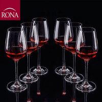 RONA 进口爱坤特水晶玻璃高脚杯 红酒杯 葡萄酒杯 香槟杯 3种容量 1只装