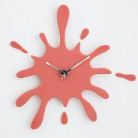 钟表挂钟客厅创意现代简约个性静音气时尚时钟艺术挂表家用 其他