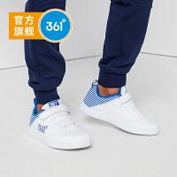 【1件3.5折到手价:90.6】361度童鞋 男童鞋春季新品儿童运动鞋 N71742710 白色银色 33