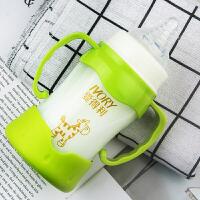 0-3-6-18个月婴儿奶瓶宝宝宽口径玻璃奶瓶套装婴儿奶瓶