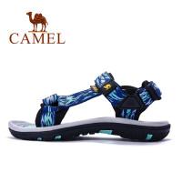 骆驼牌 沙滩鞋凉鞋 男女士户外鞋徒步休闲鞋夏季魔术贴运动凉鞋男