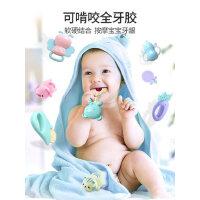 婴儿0-1岁手摇铃小孩3个月6早教4益智12新生宝宝幼儿抓握训练玩具