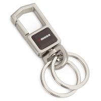 德卡男士腰挂钥匙扣 简约钥匙链汽车钥匙圈女士创意礼品定制刻字SN0073