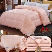 冬季棉被芯车载单人美容床包装毯加大纤维被结婚底垫幼儿园办公