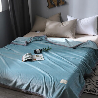 毛毯午睡小毯子薄款珊瑚绒毛巾被空调法兰绒单人学生床单被子夏