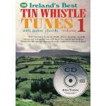 【预订】Ireland's Best Tin Whistle Tunes, Volume 1 [With 2 CDs]