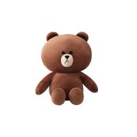 毛绒玩具布朗熊公仔抱抱熊可妮兔玩偶布娃娃可爱睡觉抱送女孩生日