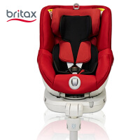 【当当自营】britax宝得适安全座椅双面骑士儿童安全座椅isofix 0-4岁 热情红