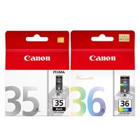 佳能原装 PGI-35黑色墨盒 CLI-36彩色墨盒 佳能 CANON IP100打印机墨盒