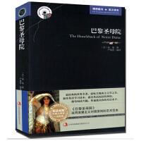 巴黎圣母院 中英对照名著 雨果英文原版+中文版 中英文英汉汉英互译 双语对照英语读物 外国世界文学名著 小说书籍 初高