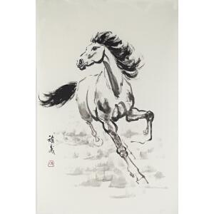 张祺晟 《马》46*69CM