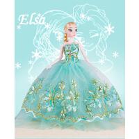 现货冰雪奇缘公主娃娃爱莎安娜公主换装艾莎娃娃女孩子公主玩具