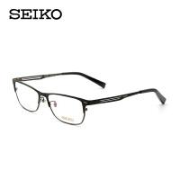 SEIKO精工眼镜框男 商务眼镜框纯钛眼镜架可配近视眼镜HC-1022