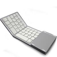 蓝牙键盘无线三折迷你触控安卓iOS苹果iPad平板华为三星手机