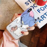 猫和老鼠iphone苹果Xsmax手机壳iphoneXR搞怪个性软壳苹果7/8plus创意卡通保护套
