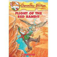 英文原版 老鼠记者:红贼的飞行 Geronimo Stilton #56: Flight of the Red Ban