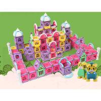 磁力棒玩具构建玩具磁性积木836件盒装 全家欢*装836件礼盒装