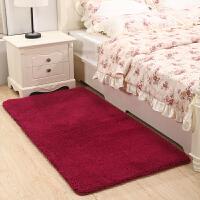 加厚长毛卧室满铺床边地毯儿童地垫底垫灰色可爱长方形家用