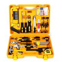 得力3703多用途组合工具五金工具套装百宝箱工具箱