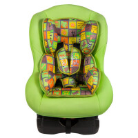 儿童安全座椅 汽车用婴儿宝宝小孩车载便携式坐椅9个月-12岁可躺 绿色【新品奖10元】