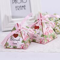 喜糖盒 欧式结婚用品创意婚庆礼盒糖果盒婚礼喜糖袋喜糖盒子