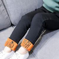 童装冬装新款女童韩版加绒加厚休闲长裤女孩铅笔裤百搭A8-T24