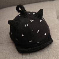 秋冬季宝宝鸭舌帽1岁2婴儿帽子3潮男童韩版儿童棒球6-12个月0小孩 均码