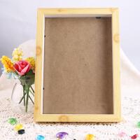 摆台相框A4亚克力相框塑料画框胶相框支架画框奖状证书 A4原木色木质相框
