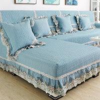 四季通用沙发垫子欧式防滑布艺坐垫全盖�f能简约现代全包套罩