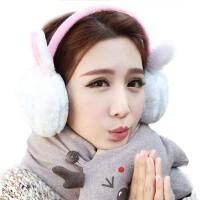 冬季保暖耳罩 护耳耳套耳暖 动物毛绒耳朵帽