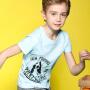 【7.21-7.22品牌促销日 每满100-50】暇步士童装男童短袖T恤新款大中童半袖夏装儿童圆领衫t恤衫
