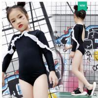 户外 新款儿童游泳衣女童式小中大童泳裤女孩泳装公主比基尼宝宝连体裙