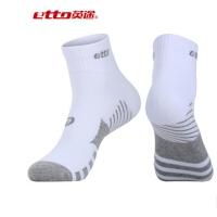 正品etto英途运动男短袜 松口舒适棉运动短袜低价热销 SO017