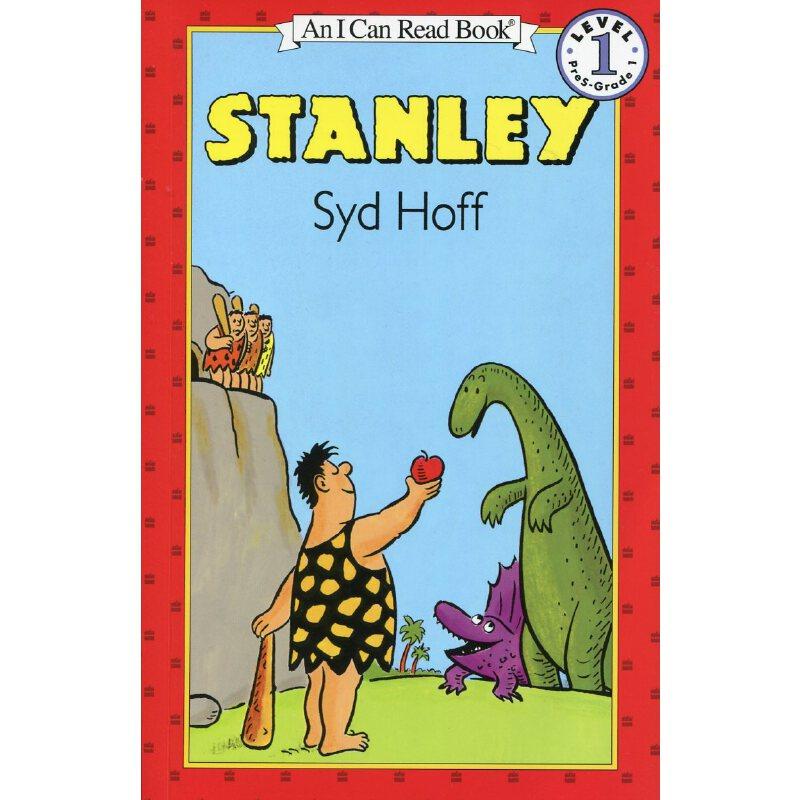 英文绘本 原版进口Stanley  原始人斯丹利 汪培珽一阶段 I Can Read  [4-8岁] 音频,请确认收货后联系客服。另有汪培珽英文书单第一阶段12册套装合售