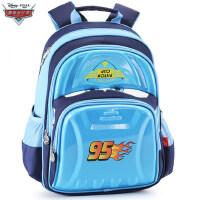 迪士尼小学生书包1-3-4年级男童赛车总动员儿童减负双肩背包
