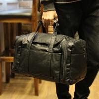 新款大容量 男士商务出差包手提旅行包登机包行李包 斜挎包 黑色