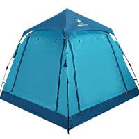 帐篷户外3-4人 野营野外露营双人家庭帐篷自动全厚款2人
