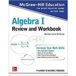【预订】McGraw-Hill Education Algebra I Review and Workbook 978