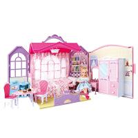 仿真芭比洋娃娃套装超大礼盒别墅城堡屋女孩公主单个衣服儿童玩具 官方标配