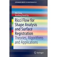 【预订】Ricci Flow for Shape Analysis and Surface Registration