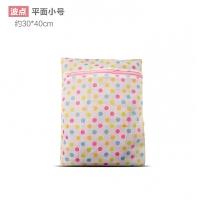 日式印花波点细网护洗袋洗衣机专用网袋加厚文胸内衣洗衣袋带拉链
