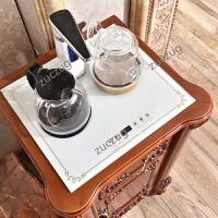 ZUCZUG欧式实木饮水柜小茶柜客厅茶吧机复古简约现代全自动办公室饮水柜 0.52*0.45米全自动饮水柜 单门